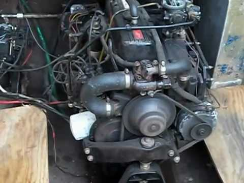1984 Mercruiser 140 HP engine, 4 cylinder for sale SOLD