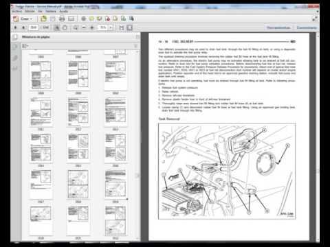 dodge dakota (2005-2007) - workshop, service, repair manual - youtube  youtube