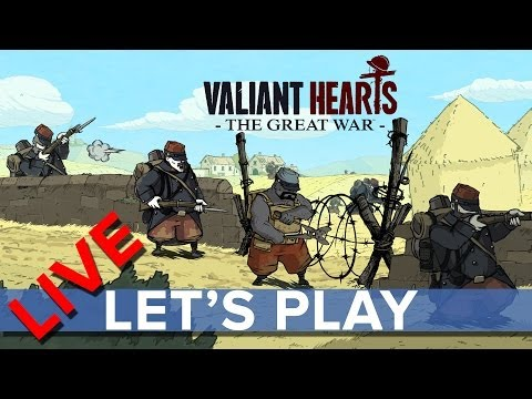 Valiant Hearts: The Great War - Eurogamer Let's Play LIVE