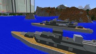 Kriegsschiffe und U-Boote in Minecraft! RICHTIG GUT umgesetzt!