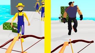 Archer Hero 3D Gameplay Android screenshot 3