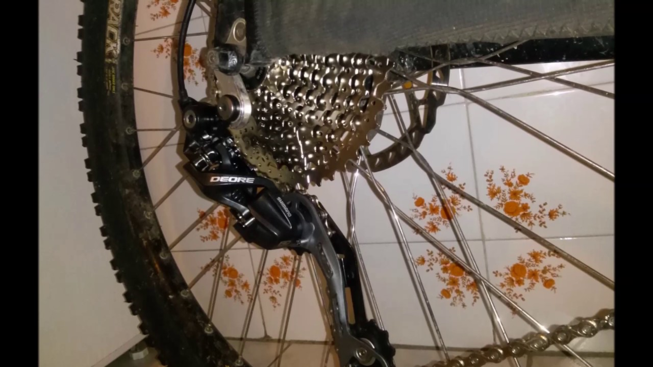 Shimano Deore RD-M610GS Mountain Bike Rear Derailleur