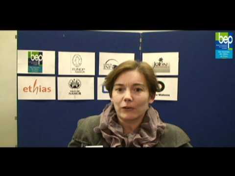 Coworking à Namur - Le témoignage de Sylvie de Meeus