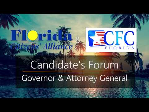 Candidates for Florida Governor and Attorney General Square Off in FLCA Forum