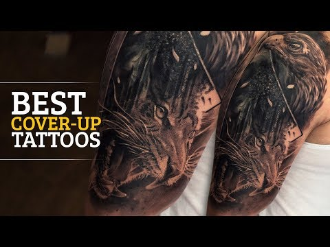 Regrets turn into a piece of Art | Regrettable Tattoo gets Covered up | Best Cover up Tattoos