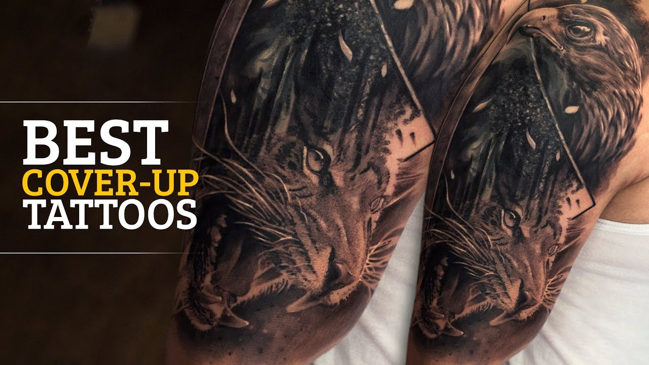 Regrettable Tattoo gets Covered up   Best Cover up Tattoos   Regrets turn  into a piece of Art!  