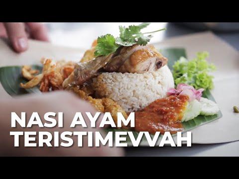 Nasi Ayam Istimewa Wajib Coba Di Medan Youtube