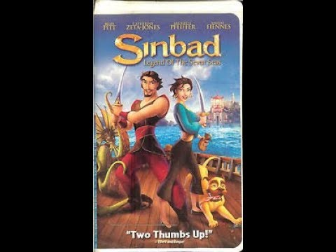 Opening to Sinbad Legend of the Seven Seas 2003 VHS - YouTube