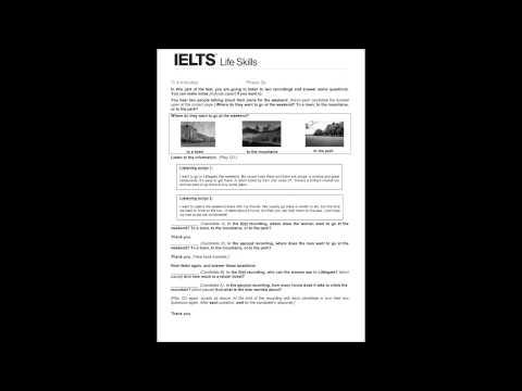IELTS Life Skills - YouTube