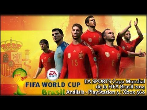 EA SPORTS Copa Mundial  Brasil 2014  (FIFA)- PS3 X360 | Análisis español GameProTV