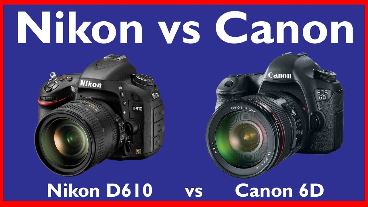 Best Camera for Wedding Photography in India | Canon 6D vs Nikon ...