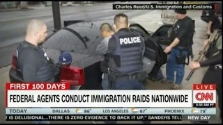 Federal agents conduct immigration raids across the country