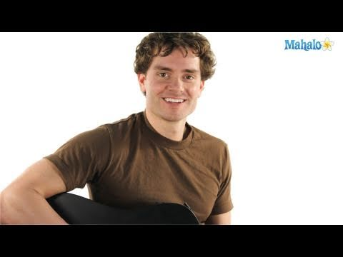 How to Play an A Major Seven over B (Amaj7/B) Chord on Guitar