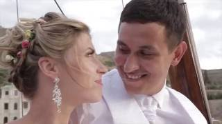 Свадьба на море Олеси и Романа летом 2016 года.