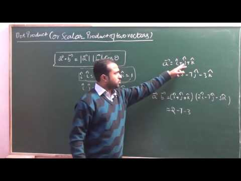 Dot product (Scalar Product ) of two vectors| CBSE 12 Maths NCERT 10.3 intro