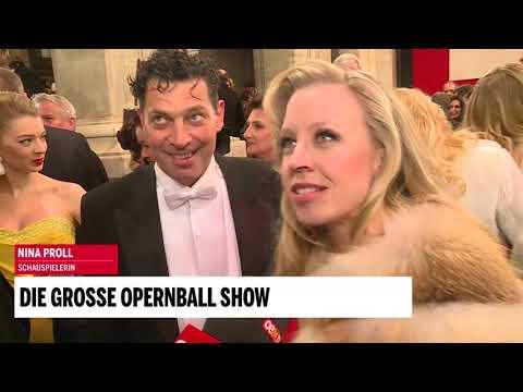Opernball:  mit Nina Proll