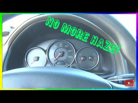 How To Clean Plastic Cover On Gauge Cluster [2018]