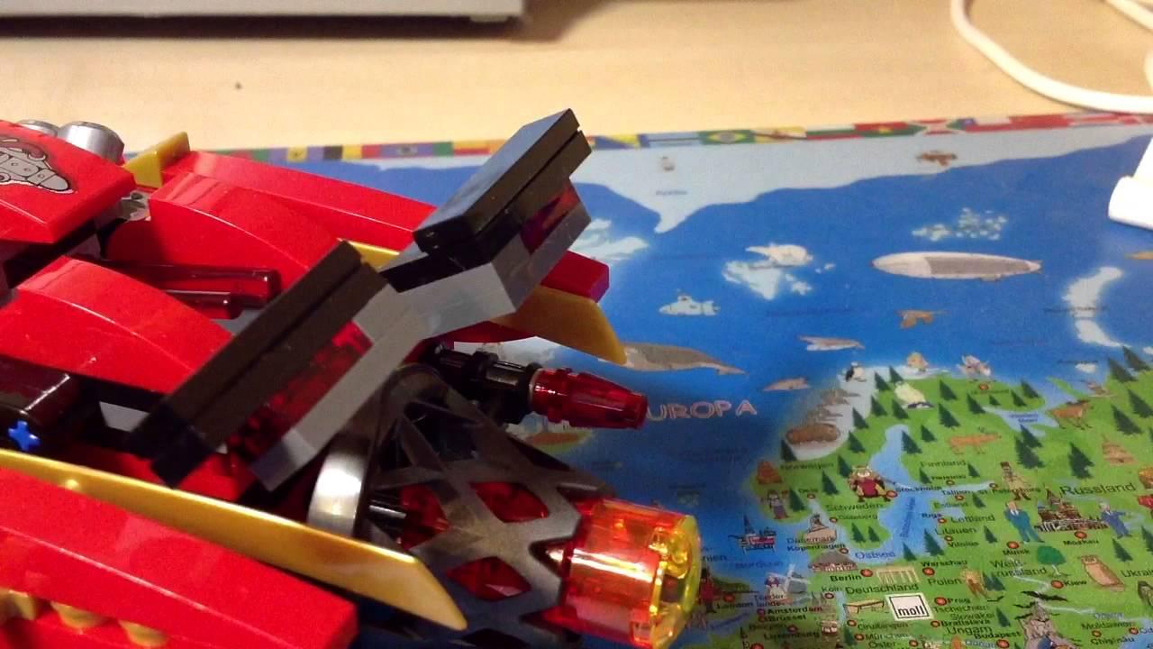 Купить LEGO NINJAGO Конструктор Огненный робот Кая 70615 - детские .