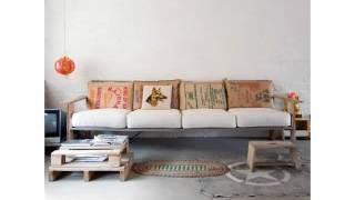 Pic Of Furniture Made By Using Pallet - Ideas Pallets Furniture Sofa