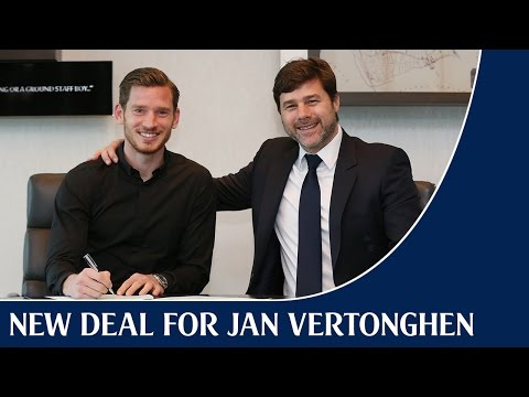Jan Vertonghen pens new contract