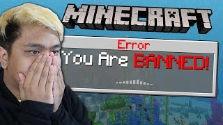 I GOT BANNED FROM MINECRAFT REALMS SMP!