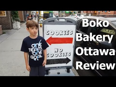 Boko Bakery Amazing Cookies 🍪🍪 | Ottawa Travel Blog 2018