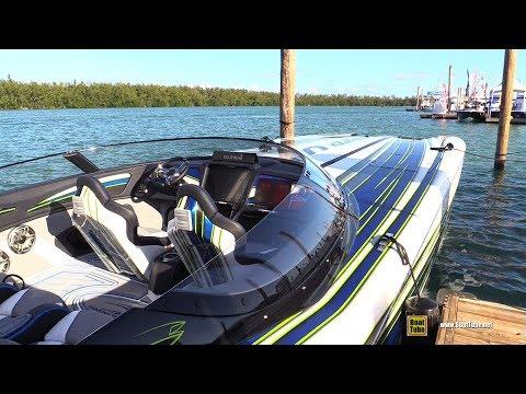 2020 Marine Technology Inc 38 Power Boat - Walkaround - 2020 Miami Boat Show