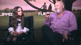 Flipped - Exclusive: Madeline Carroll And Rob Reiner Interview
