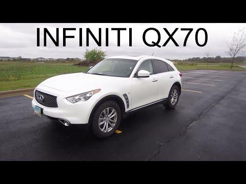 2017 Infiniti QX70 - Full Rental Car Review