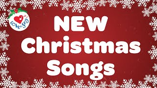 New Christmas Songs and Carols Love to Sing with Lyrics Playlist 🎄 Merry Christmas 🔔