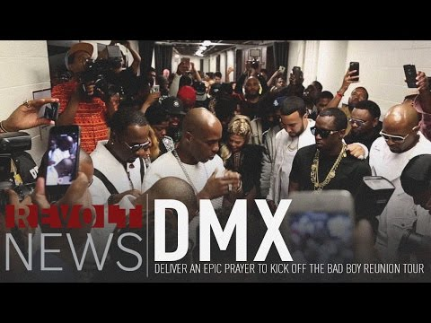 Watch DMX der an epic prayer to kick off the Bad Boy Reunion Tour
