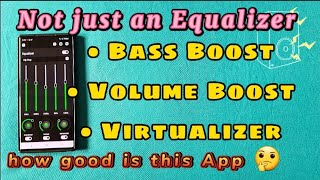 How to get more Bass, volume and equalizer with this free three in one Volume Booster App 😀 screenshot 4