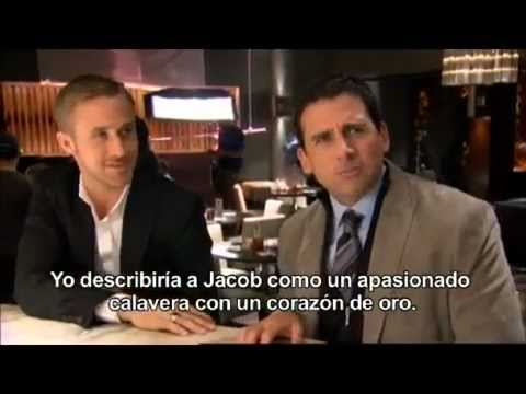 Steve Carell and Ryan Gosling interview on the set of Crazy, Stupid, Love