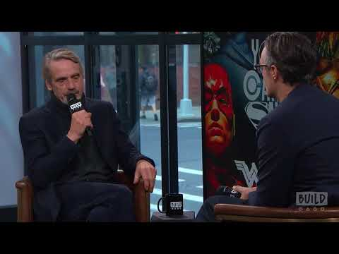 """Jeremy Irons Speaks On """"Justice League"""""""
