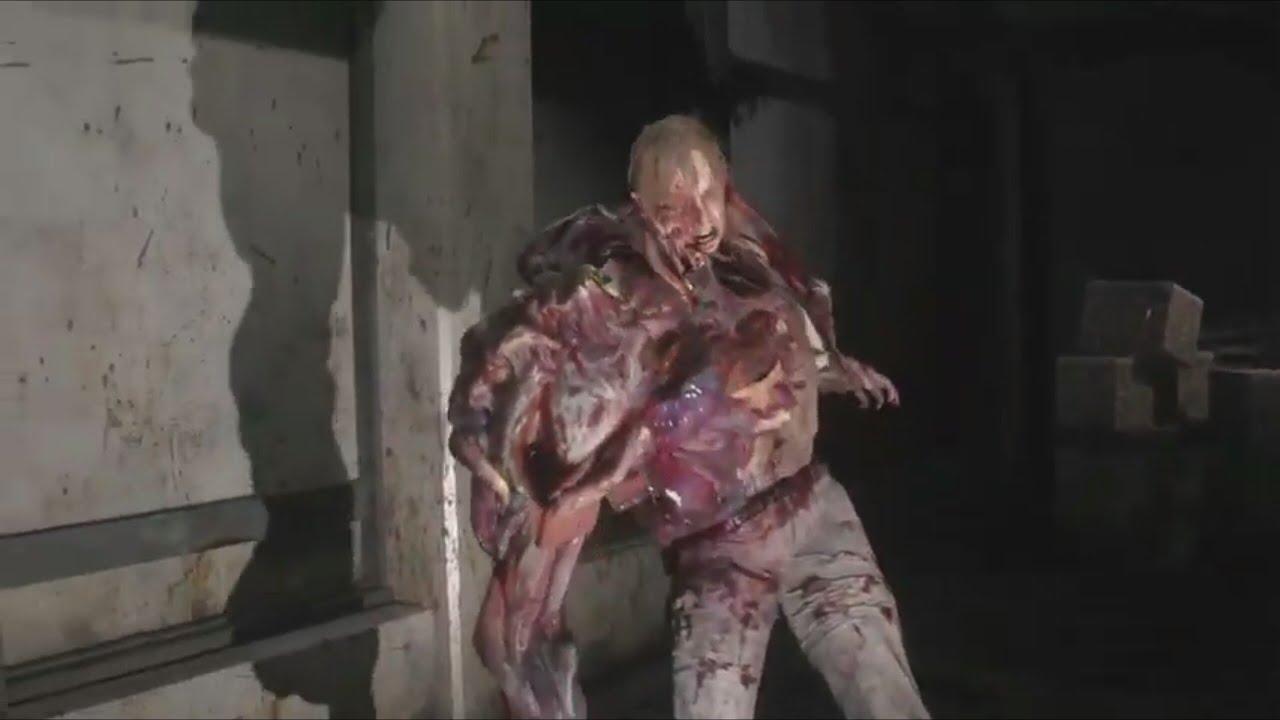 Resident Evil 2 Remake G Stage 2 William Birkin Boss Fight
