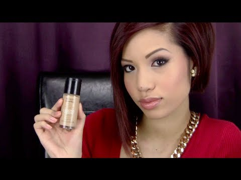 Review: Revlon Colorstay Liquid Foundation - YouTube