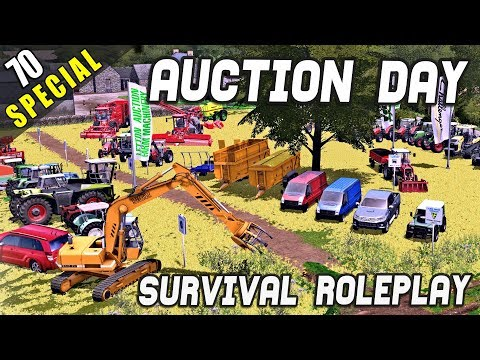 AUCTION DAY! WHAT WILL I BUY AND SELL? - Survival Roleplay | Episode 70 (Special)