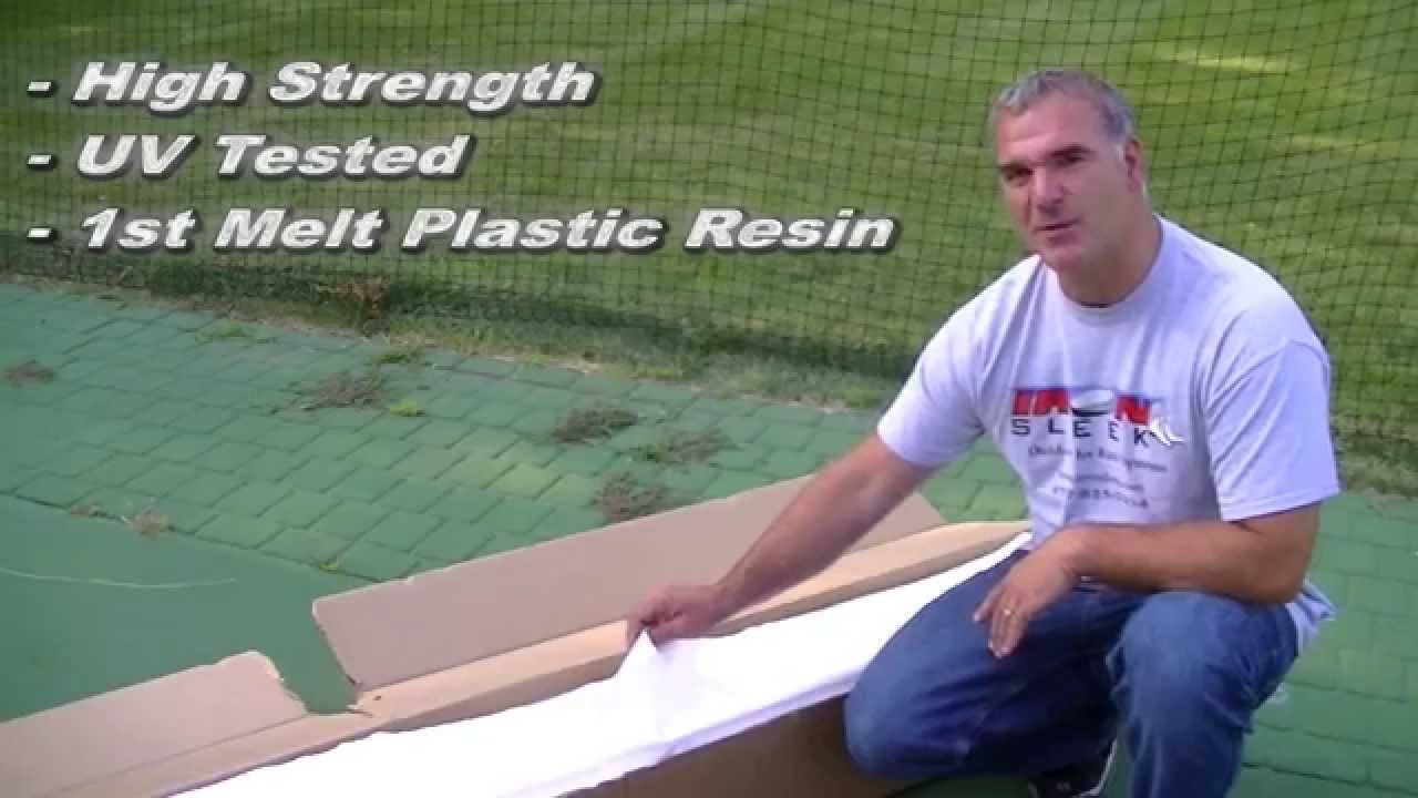 ice rink liner by iron sleek outdoor ice rinks youtube