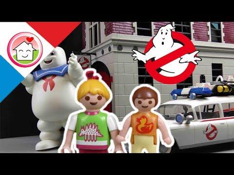 PLAYMOBIL Ghostbusters en français  La famille Hauser va au cinema
