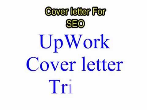 how to creat cover letter for seo on up work job youtube