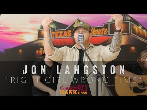 Jon Langston - Right Girl Wrong Time (Acoustic)