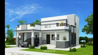 6 Beautiful House Designs With  Roof Deck (plans Included)
