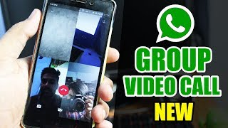 How to use WhatsApp Group Video Call