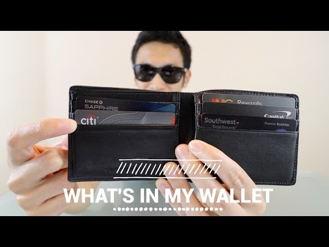 What's in my Wallet | Top Credit Cards for 2017