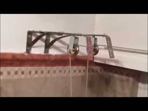 Stendibiancheria sistema a carrucole fai da te youtube for Sistema irrigazione fai da te balcone