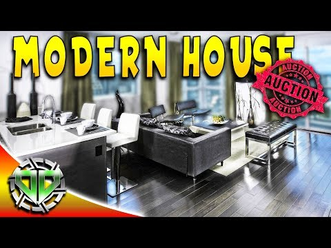 House Flipper Gameplay : Modern House Auction SOLD : PC Lets Play