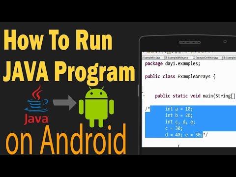 How To Run/Compile JAVA PROGRAM OFFLINE On ANDROID - HINDI