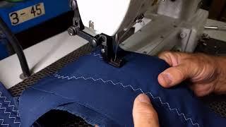 Techsew 2150 Industrial Sewing Machine Sample