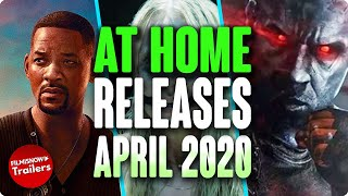 HOME RELEASE MOVIES APRIL 2020   DIGITAL/DVD/BLURAY
