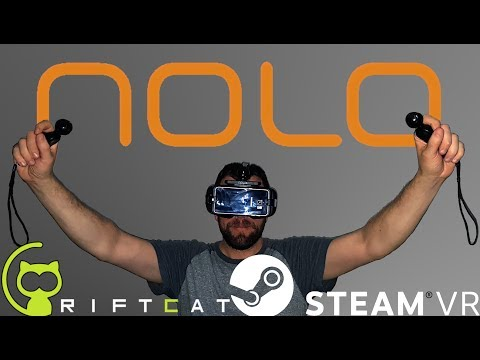 How to Setup Nolo with SteamVR and Riftcat - June 2017